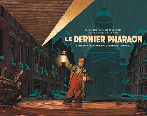Autour de Blake & Mortimer - tome 11 - Dernier Pharaon (Le) - version demi-format par  Schuiten François, Van Dormael Jaco, Gunzig Thomas