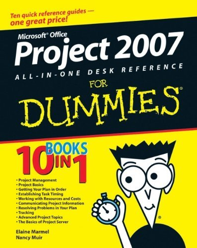 Microsoft Project 2007 All-in-one Desk Reference For Dummies by Elaine Marmel (10-Aug-2007) Paperback par Elaine Marmel