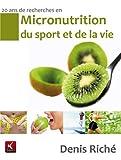 Micronutrition du sport et de la vie