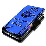Book Style Handy Tasche - Design G13 - für Wiko Rainbow Jam - Cover Case Schutz Hülle Etui Schutzhülle
