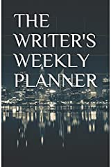 The Writer's Weekly Planner Undated (Black) Paperback
