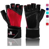 Gewichtheben Handschuhe mit Handgelenkstütze, Workout Handschuhe mit Handgelenk Polsterung für mit Gewichten,... preisvergleich bei billige-tabletten.eu