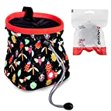 Ocun Chalkbag Lucky/Push mit Chalk Ball und Belt (Bugs)