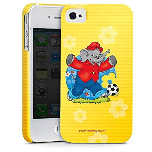 Apple iPhone X Silikon Hülle Case Schutzhülle Benjamin Blümchen Fanartikel Merchandise Fussballstar Premium Case glänzend