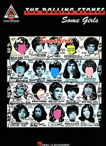 Rolling Stones: Some Girls (Guitar Recorded Version Guitar TAB): Songbook, Tabulatur für Gitarre