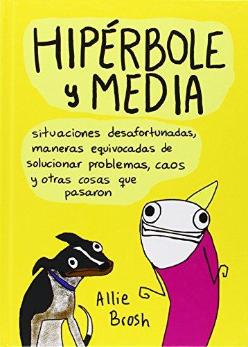 Portada del libro Hipérbole Y Media (Principal Gráfica)