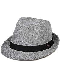 Cappello Estivo Cappello di Paglia Berretto da Uomo Unisex Classiche  Berretto D 86516fb1d734