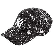 New Era New York Yankees Painted Black 9FORTY Unisex Şapka 12134846