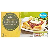Morrisons Meat Free Goats Cheese and Caramelised Onion Tarts, 200g (Frozen)