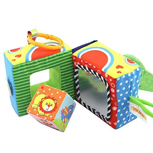 Per Libros Blandos Infantiles para Bebés Libros de Tela...