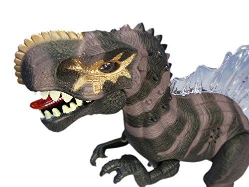 Dinosaurier-spielzeug, Brüllt Das (Elektronisches Spielzeug Dinosaurier Spinosaurus mit Licht, Sound- und Gehfunktion ca. 25 cm hoch)
