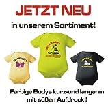 Body Baby 1/1-Arm mit Druck ICH BIN MAMA`S UNTERHALTUNGSPROGRAMM… (Gr. 62/68) / 150030 - 3