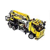 Bausteine gebraucht 1 x Lego Technic Set Modell für 8292 Cherry Picker gelb Truck mit Kipp Ladefläche Technik NK 25 679 Power Funktion geprüft Incomplete unvollständig