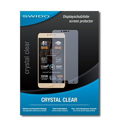 SWIDO Schutzfolie für Allview X3 Soul Plus [2 Stück] Kristall-Klar, Hoher Härtegrad, Schutz vor Öl, Staub & Kratzer/Glasfolie, Bildschirmschutz, Bildschirmschutzfolie, Panzerglas-Folie