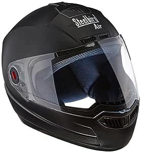 Steelbird SBA-1 Classic Black with Plain Visor,600 mm