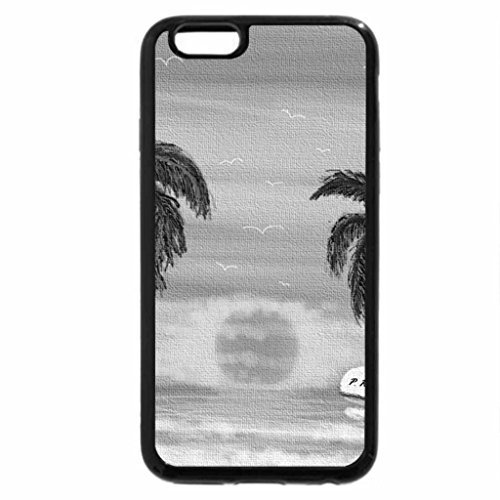 iPhone 6S Case, iPhone 6 Case (Black & White) - EL TUMBA COCO
