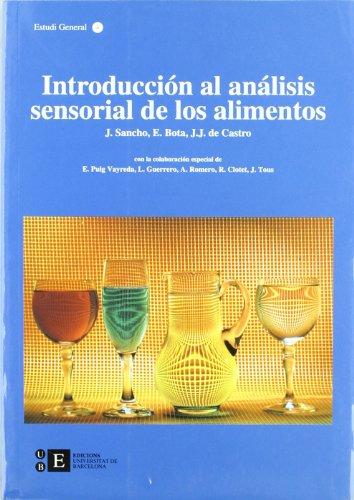 Descargar Libro Introducción al análisis sensorial de los alimentos de Juan José De Castro Martín