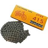 Générique 415 Chaîne Link Compatible Pour Moteur à 2 temps 49cc 60cc 66cc 80cc Vélo Motorisé