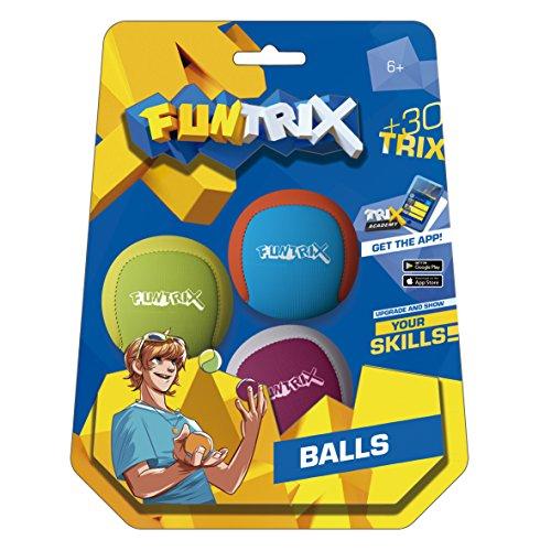 Fun Trix 50626 Jonglierbälle 3er Set