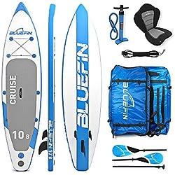 Bluefin – Planche de Paddle Board supérieure avec kit de conversion Kayak – Pneumatique Convertible Sport Aquatique iSup ultra résistant (330cm, 365cm)
