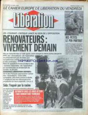 LIBERATION [No 2457] du 14/04/1989 - CAH...
