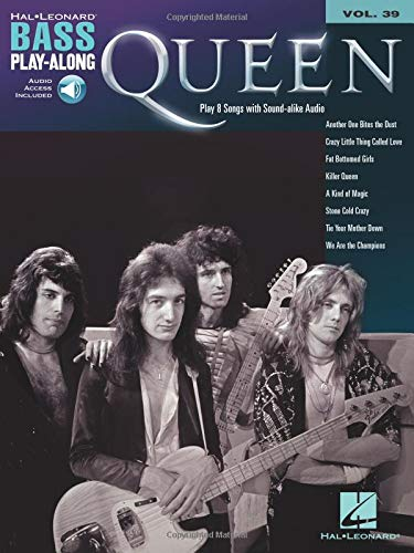 Bass Play-Along Volume 39: Queen (Book/Online Audio)