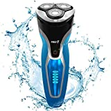 Electric Shaver MAX-T Razor Wet & Dry Men's Electric Rotary Shavers, Rechargeable