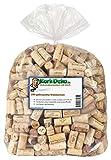 250 gebrauchte Weinkorken (Wein Korken Flaschenkorken) - Naturkorken Kork, ideal zum Basteln und Dekorieren -
