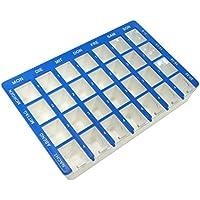 Dr. Junghans Medical 73037 Tablettenbox, Pillenbox, Medikationshilfe, Tablettendose, Medikamentendosierer für... preisvergleich bei billige-tabletten.eu