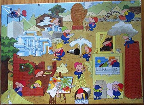 PUZZLE, 15 Ausbildungsberufe in der Bauwirtschaft (Puzzle, 500 Teile)