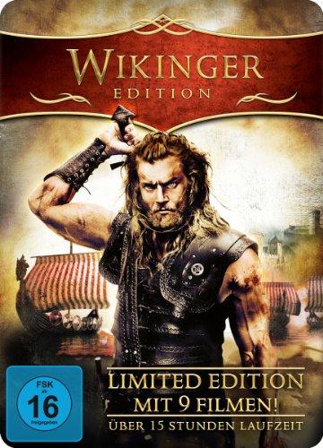 Wikinger Edition - Metal-Pack (Limited Edition mit 9 Filmen und über 15 Stunden Laufzeit) [3 DVDs] (Thor-box-set Dvd)