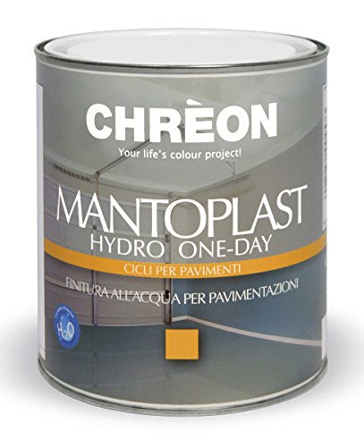 Mantoplast Hydro One-Day / BASE TRASP. LUCIDA 0.75 / finitura all'acqua per pavimentazioni in cemento, (Acqua In Cemento)