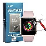 Nakeey [2 Stück] Displayschutzfolie für Apple Watch, Schutzhülle für Armbanduhr - HD Transparent Displayschutz 9H Härte Folie Screen Protector für Apple Watch
