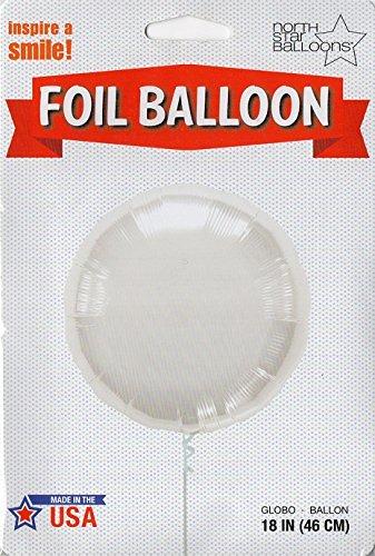 North Star balón de papel de aluminio 18
