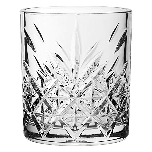 Pasabahce Timeless whisky bicchieri tumbler bassi (cl) (12 bicchieri)