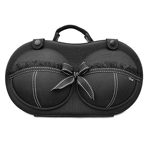 Tragbare BH Aufbewahrungsbox, BH Box & BH Tasche für Körbchengröße 65A - 80C – die originale & patentierte BH Aufbewahrung – Sophia von The Brag Company