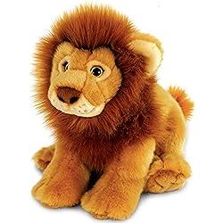 Peluche lion, Keel Toys Raub chat couché env. 30cm