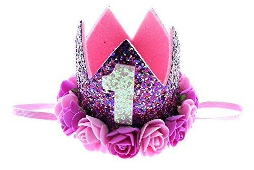 Corona - Príncipe - Princesa - con Rosa - Fiesta de...