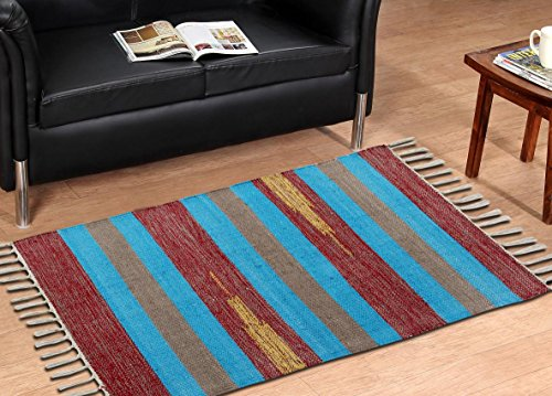 Decorly Homes Cut Shuttle floor mat Rugs(50*80 cms)