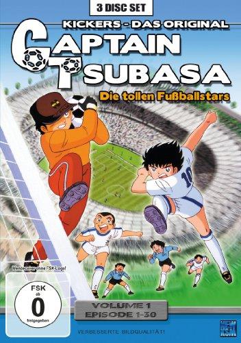 Captain Tsubasa: Die tollen Fußballstars, Vol. 1 - Episoden 1-30 (3 DVDs)