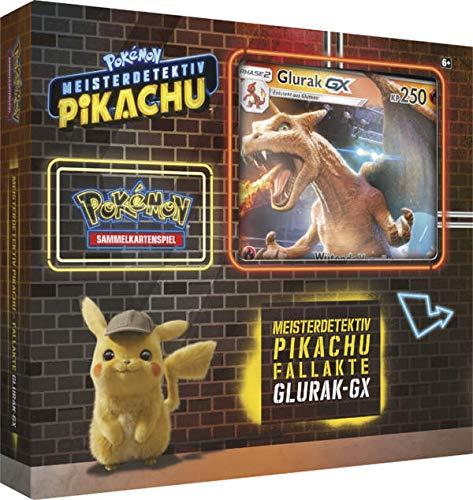 Pokemon 45105 PKM Movie Glurak-GX Box, bunt
