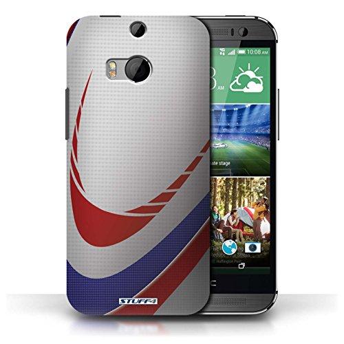 Kobalt® Imprimé Etui / Coque pour HTC One/1 M8 / Football américain conception / Série Balle Sportif Rugby