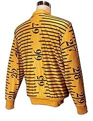 adidas Chaqueta by Jeremy Scott tapemea Sure TT Super Oro/Black, dorado, XL