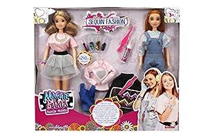 Simba Poupée Maggie et Bianca : Coffret 2 poupées à customiser