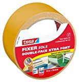 tesa Double Face Xtra 05691–00000–00Fußboden doppelseitig für Unregelmäßige Böden Klebeband 10m x 50mm