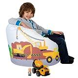 ICON Designer Boys Cars Bean Bag - Indoor/Outdoor Printed Kids Bean Bags