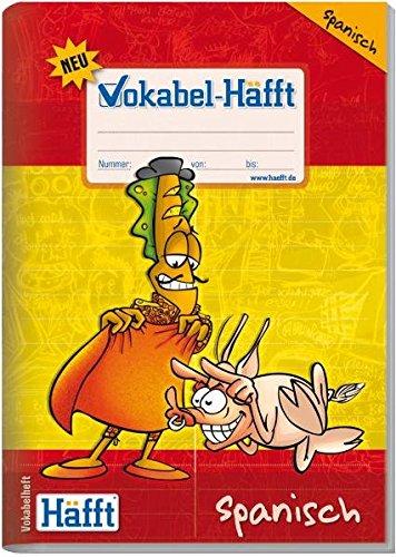 Vokabelheft A5 Spanisch Neu mit Lernhilfe Vokabelheft HAEfft