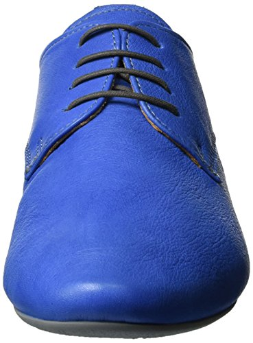 Think! Guad, Derby femme Blau (Jeans/KOMBI 84)