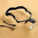 Kopf Montiert Lupe Mit 2 LED Beleuchtete Wechselobjektiv Für Schmuck Uhr Elektronische Reparatur 1.0 X 1.5 X 2,0 X 2.5 X 3.5 X