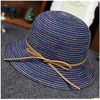 GYwink Cappellino Neonato Cappello di Protezione per Bambini da Spiaggia  Bowknot Cappello da Spiaggia per Bambini 63671f6ba1bc